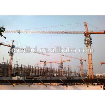 Shandong Hongda QTZ4708 tower crane 4t Loading Capacity