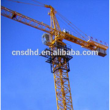 QTZ125 tower crane 8T tower crane