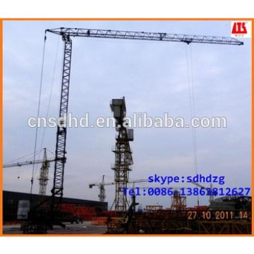 no foundation 2t mobile tower crane fast erecting tower crane