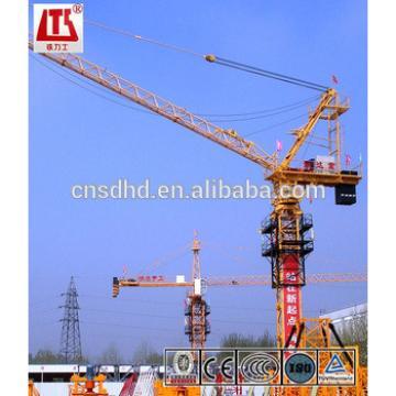 SF200L 12t luffing tower crane luffing jib tower crane