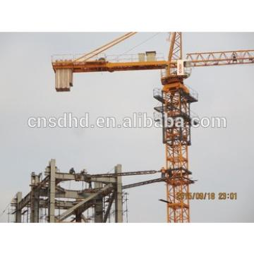 12t hydraulic self-hoisting Tower Crane QTZ200(7020) Tower Crane