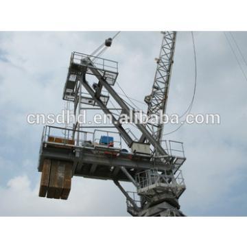 6t Luffing tower crane QTD80 luffing tower crane 6ton loading capacity