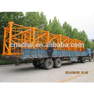 QTZ125F 10ton Lifting Capacity Tower Crane