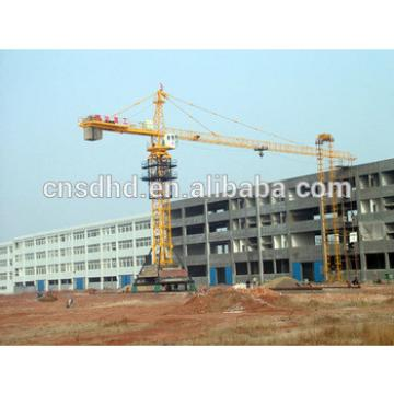 3t samll mobile tower crane/travelingl tower crane