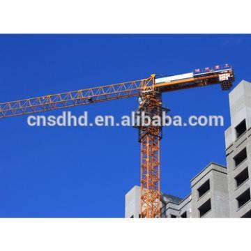 Hongda 6Ton Tower Crane Without Top 8Ton Topless Tower Crane