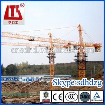 HONGDA QTZ63 tower crane 6t tower crane frequency type tower crane