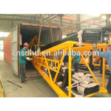 Hongda Famous Brand QTZ125F 10t tower crane