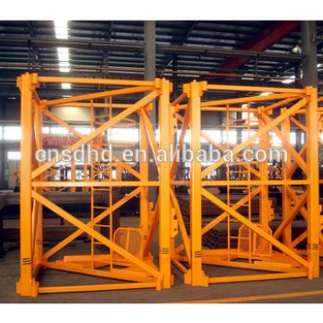 QTZ200 frequency converter tower crane 12t Loading capacity tower crane