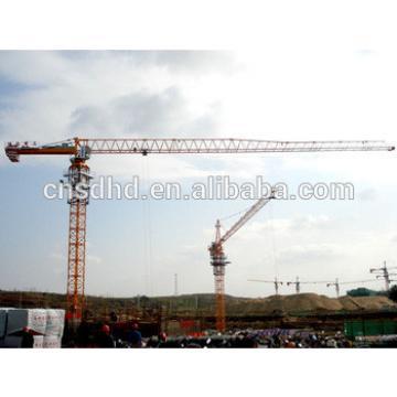 6ton Lifting Capacity Topless Tower Crane Inside Climbing Tower Crane