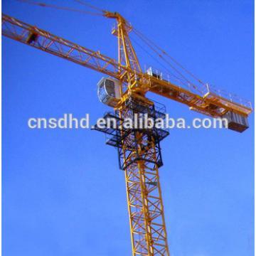 Hongda 8t Tower Crane With Double Slewing Mechanism