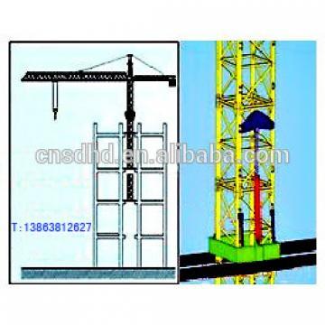 inside climb tower crane 3t inner climbing towre crane
