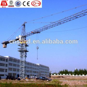 QTZ160 (6018) 10t lifting capacity tower crane mobile tower crane 60m jib length tower crane