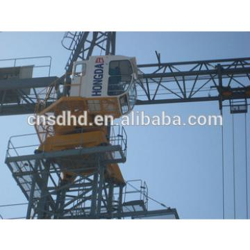 QTZ300 12t lifting capacity tower crane with remote control and frequency converter TC7031 tower crane