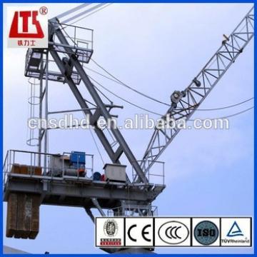 HONGDA 30-80m jib Tower Crane Mobile Tower Crane