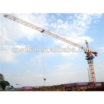 Hongda QTZ125 8t and 10t tower crane high quality with CE