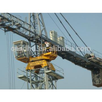 hydraulic telescoping 12 ton tower crane QTZ200(7020), 12 ton crane