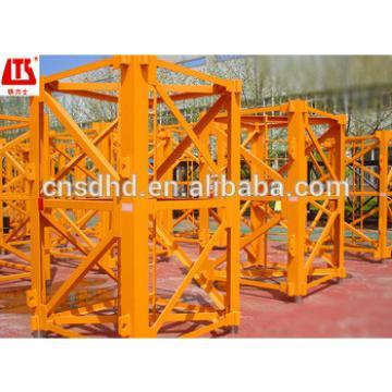 Hongda 4t tower crane 47m jib length frequency tower crane luffing tower crane