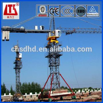 10t lifting capacity tower crane mobile tower crane QTZ160 10ton tower crane