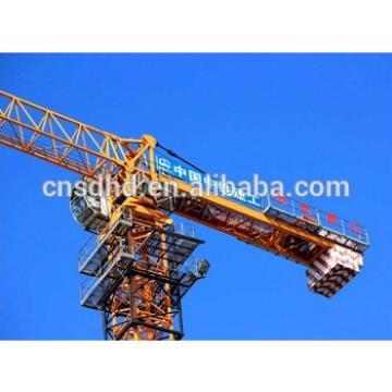 Hongda 6t flat top tower crane 6t topless tower crane