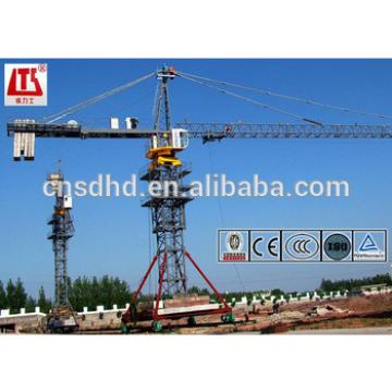 8t mobile tower crane QTZ80A(5512) tower crane