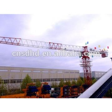 6t topless tower crane 55m jib length crane