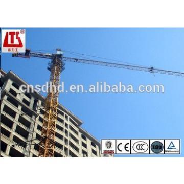 Hongda 3t mini tower crane with 38m jib length tower crane