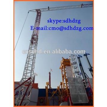 2t 25m jib fast-erecting crane QTK20 tower crane