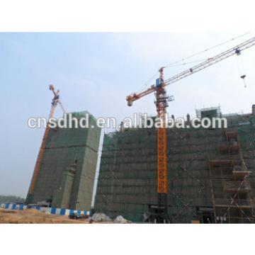 QTZ50A tower crane ,self erecting 5t tower crane