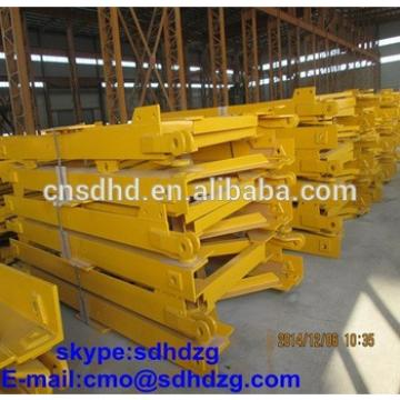 mast section for tower crane use