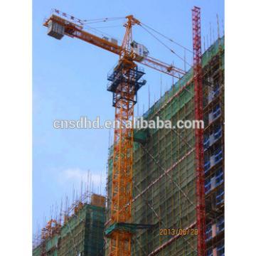 5t hammer head with 48m jib tower crane,construction tower crane
