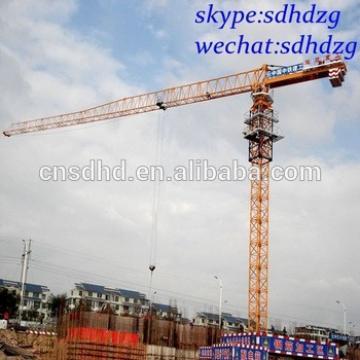 flat top tower crane 8t flattop tower crane