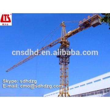 QTZ63 tower crane 50m jib tower crane