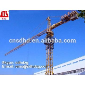 QTZ125 tower crane mast section 8t tower crane