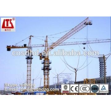 QTZ125 construction tower crane