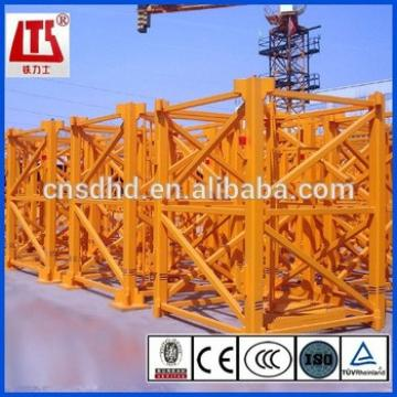 50m jib 6t loading luffing tower cranes with CE