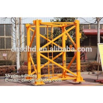 new condation QTZ80 tower crane