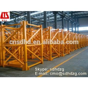 QTZ160 tower crane with CE certificate for sale