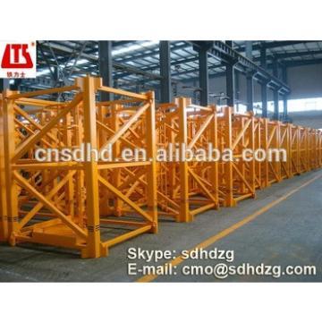 8 ton self-raised tower crane with CE