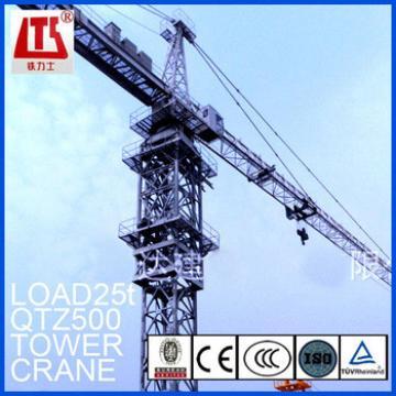 25t Load tower crane machine with good price
