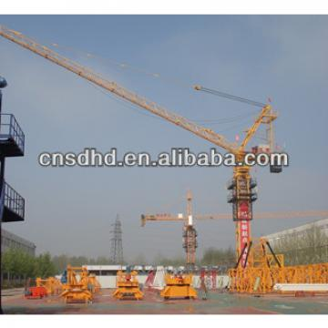 8t luffing tower crane,8t tower crane,tower cap with CE