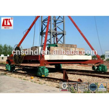 6t lifting capacity tower crane mobile tower crane QTZ63B
