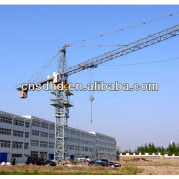 QTZ160 10T hydraulic self-lifting tower crane