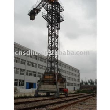 tracking tower crane
