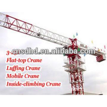QTZ160 10T 60m jib tower crane 6018 tower crane