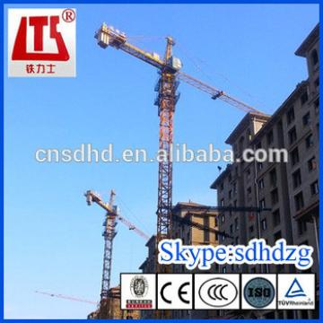 Hongda manufacturer 3t Tower Crane with CE best sales