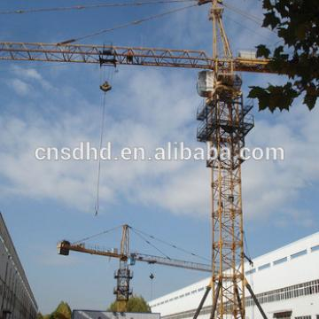 Hongda factory price 6t tower crane lifting construction