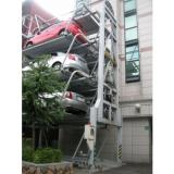 smart intelligent rotary parking system with builtin turntable