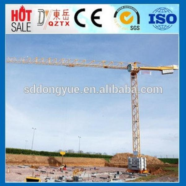 used tower crane for sale,QTZ80 tower crane competitive price made in China #1 image