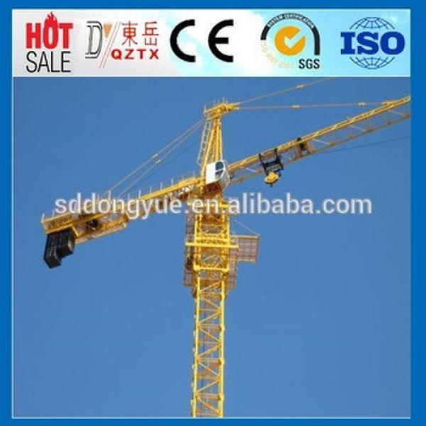 Competitive price&best quality QTZ50 self-erecting tower crane #1 image