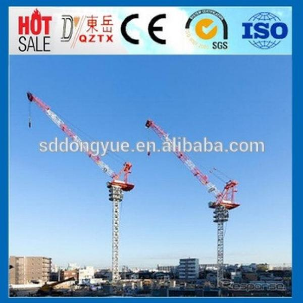D250 12t Industrial and Building luffing tower crane manufacturers #1 image